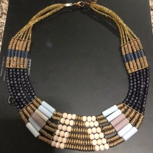 Beaded color necklace